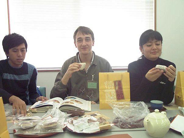 Prvi put u japan u fabrici slatkisa