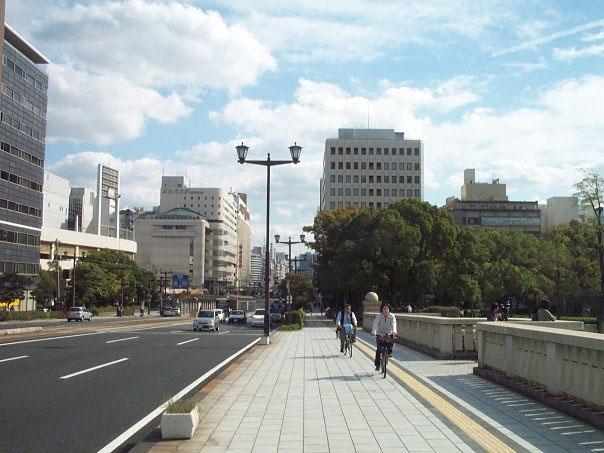 Prvi put u japan ulica u hirosimi