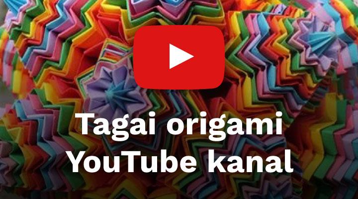 Tagai origami YouTube kanal